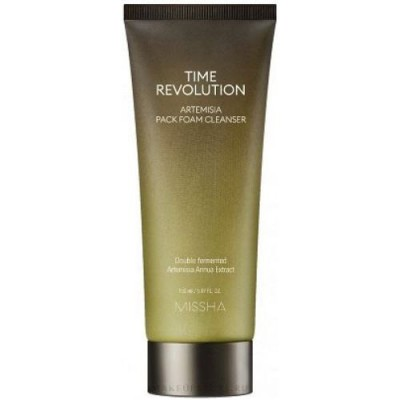 Missha Time Revolution Artemisia Очищающая маска-пенка, 150 мл