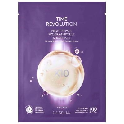 Missha Time Revolution Night Repair Probio Маска, 40 г