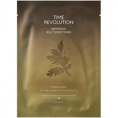 Missha Time Revolution Artemisia Jelly Маска, 23 г