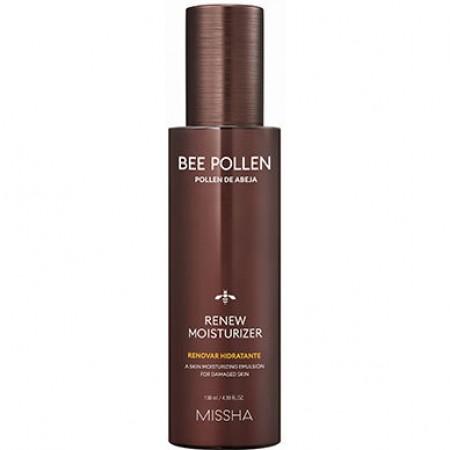 Missha Bee Pollen Renew Moisturizer Emulsion Увлажняющийгель на основе пчелиной пыльцы, 130 мл.