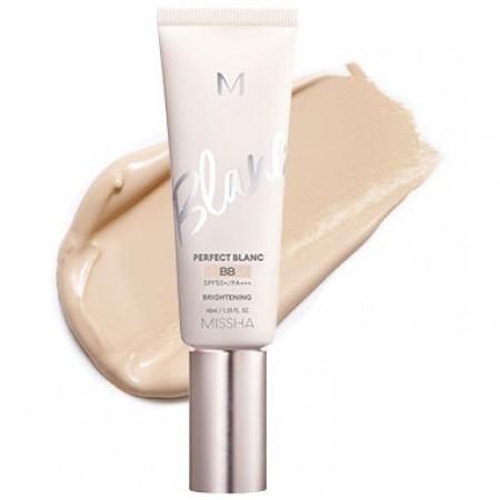 Missha M Perfect Blanc Sand BB крем идеальное покрытие SPF50+ / PA+++ №23, 40 мл.