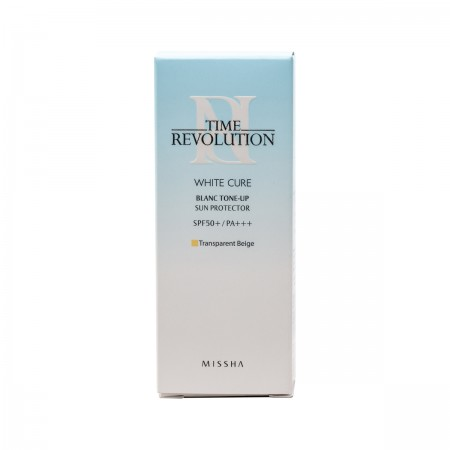 Missha Time Revolution White Cure Крем для лица солнцезащитный 50 мл