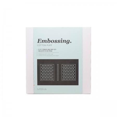 Missha Embossing Cotton Puff Набор спонжей для демакияжа, 270 шт.