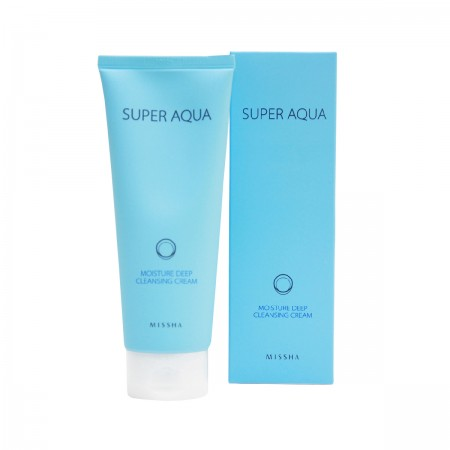 Missha Крем очищающий Super Aqua Moisture Deep Cleansing Cream