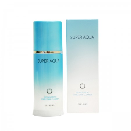 Missha Кислородная пенка Super Aqua Oxygen Micro Visible Deep Cleanser