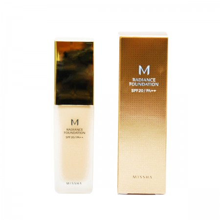 Missha База под макияж M Radiance Foundation SPF20/PA++ (No.13/Vanilla Beige)