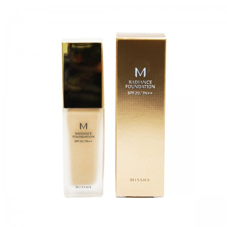 Missha База под макияж M Radiance Foundation SPF20 PA++ (No.21/Light Beige)