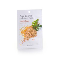 Missha Маска для лица с Pure Cell Sheet Mask Lentil Bean, 21 г