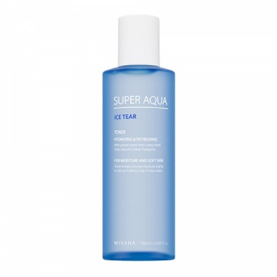 Missha Увлажняющий тоник для лица Super Aqua Ice Tear, 180 мл