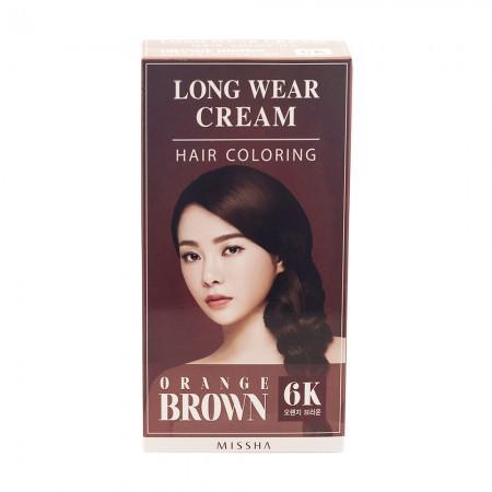 Missha Стойкая крем-краска для волос Orange Brown 60г*2, 8мл