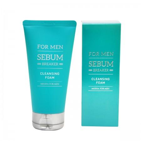 Missha Пенка для умывания For Men Sebum Breaker Cleansing Foam