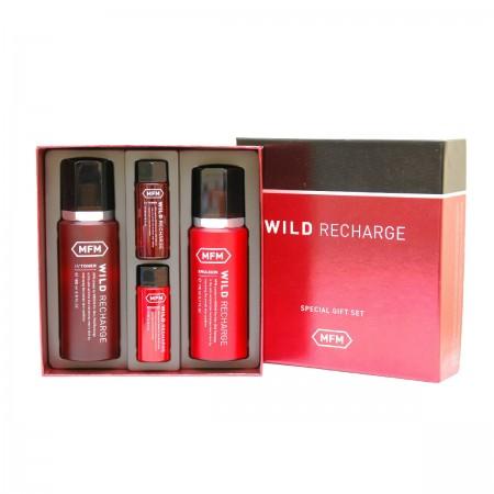 Missha Косметический набор для мужчин For Men Wild Recharge Set