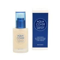Missha Тональная основа Aqua Cover Foundation SPF20/PA++ (No.W21)