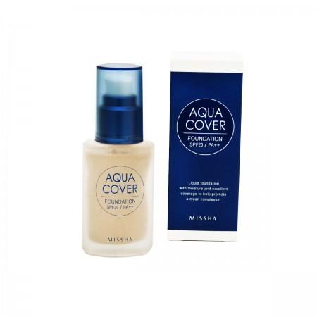 Missha Тональная основа Aqua Cover Foundation SPF20/PA++ (No.C21)