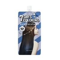 Missha Тонирующая краска для волос Seven Days Coloring Hair голубой дым, 25 мл