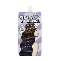 Missha Тонирующая краска для волос Seven Days Coloring Hair фиолетовая лаванда, 25 мл