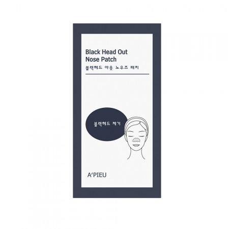 A'PIEU Набор патчей для носа против черных точек Black Head Out Nose Patch Set, 10 шт.
