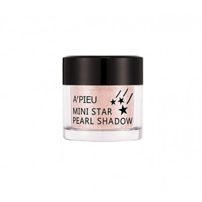 Apieu Тени для век Mini Star Pearl Shadow №1, 4,5 гр