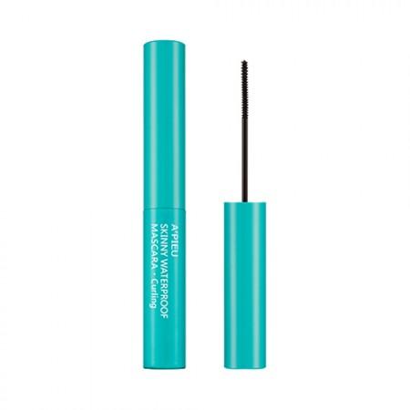 Apieu Тушь для век Skinny Water Proof Mascara Curling Водостойкая (Удлинение), 4 мл