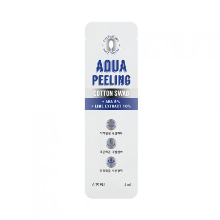 A'PIEU Палочка-пилинг Aqua Peeling Cotton Swab, 3 мл