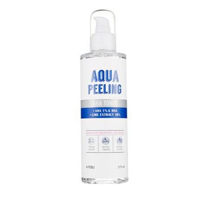 Apieu Тонер с АНА- и ВНА-кислотами Aqua Peeling AHA Toner, 275 мл