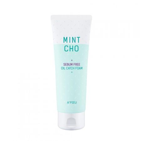 A'PIEU Пена для умывания Mint Cho Sebum Free Oil Catch Foam, 150 мл