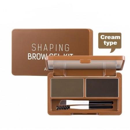 A'PIEU Гелевый набор для макияжа бровей Shaping Brow Gel Kit, 5 гр
