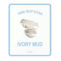 Apieu Тканевая маска с каолином Pore Deep Clear Ivory Mud Mask, 15 мл
