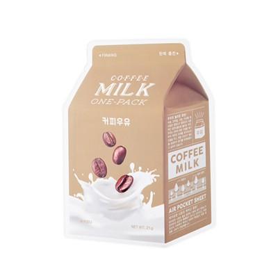 A'PIEU Тканевая маска с экстрактом кофе Coffee Milk One-Pack, 21 мл