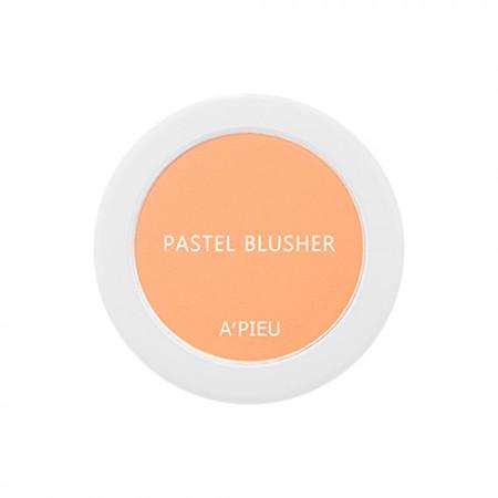 A'PIEU Компактные румяна Pastel Blusher OR04, 4,5 гр