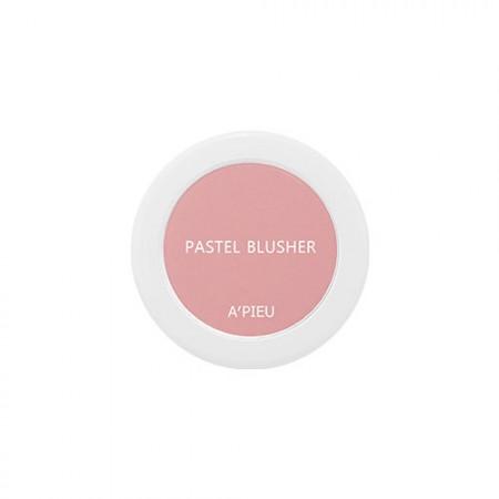 A'PIEU Компактные румяна Pastel Blusher PK06, 4,5 гр