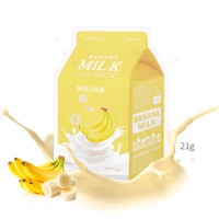 A'PIEU Тканевая маска с экстрактом банана Banana Milk One-Pack, 21 мл