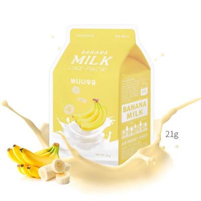 Apieu Тканевая маска с экстрактом банана Banana Milk One-Pack, 21 мл