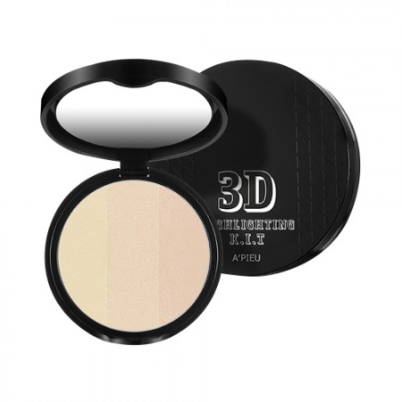 A'PIEU Набор для хайлайтинга лица 3D Highlighting Kit, 9,5 гр
