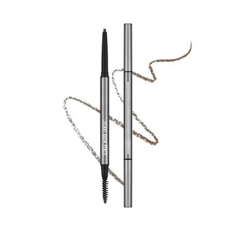 A'PIEU Карандаш для бровей Skinny Brow Pencil (Темно-коричневый), 0,05 гр
