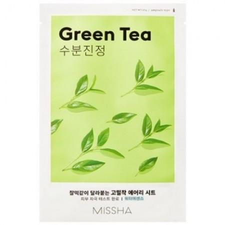Missha Airy Fit Маска для лица Зеленый чай, 19 г